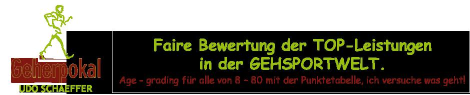Geherpokal.de – von Privat für Privat