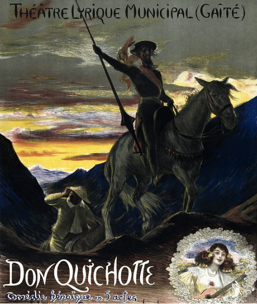 Don Quijote in 5 Akten