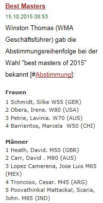 Best Masters 2015
