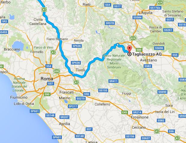 1604 Rom-Tagliacozza