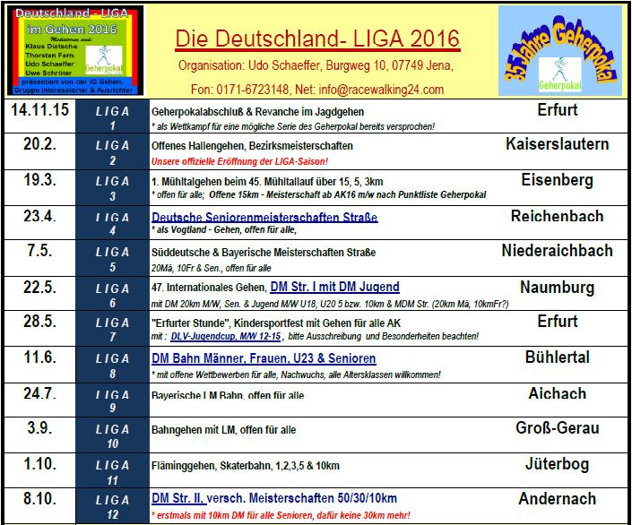 1600 WK DEUTSCHLAND-LIGA