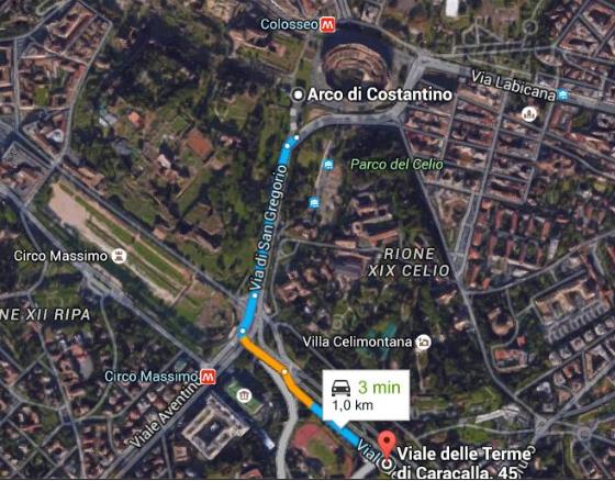 160507 Rom Strecke