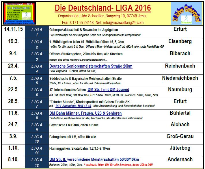 1602 Deutschland-LIGA NEU