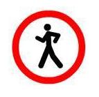 Gehen verboten