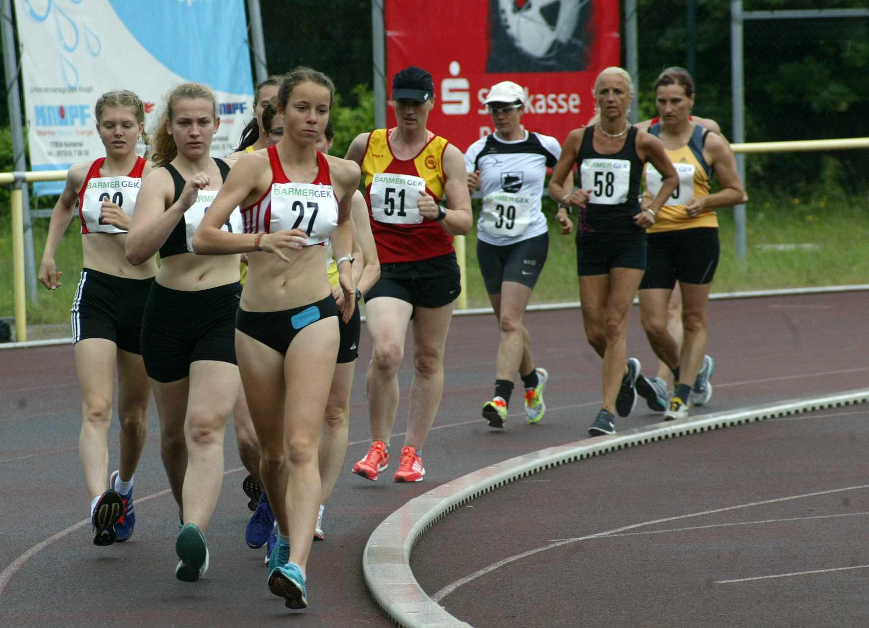 D5BE0910 - 5000m Frauen - vorne Teresa Zurek   FOTO_rawo