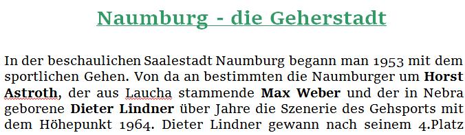 Naumburg Geherstadt