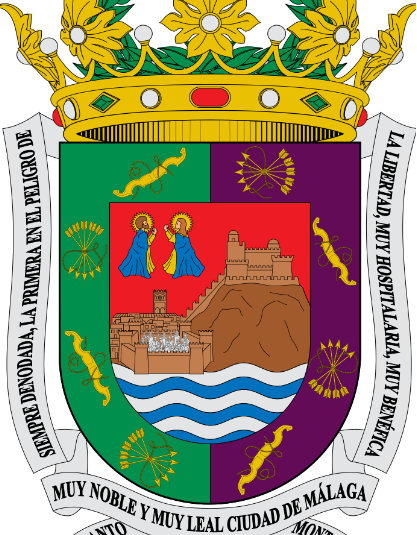 1800 Malaga Stadt