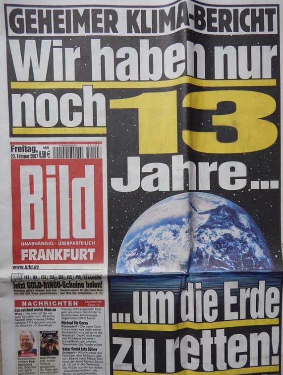 200223 Bild-Zeitung vor 13 Jahren