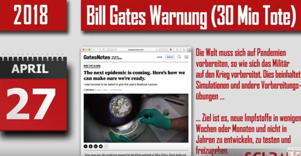 180427 Warnung, Bill Gates