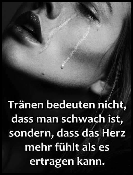 Tränen und Herz